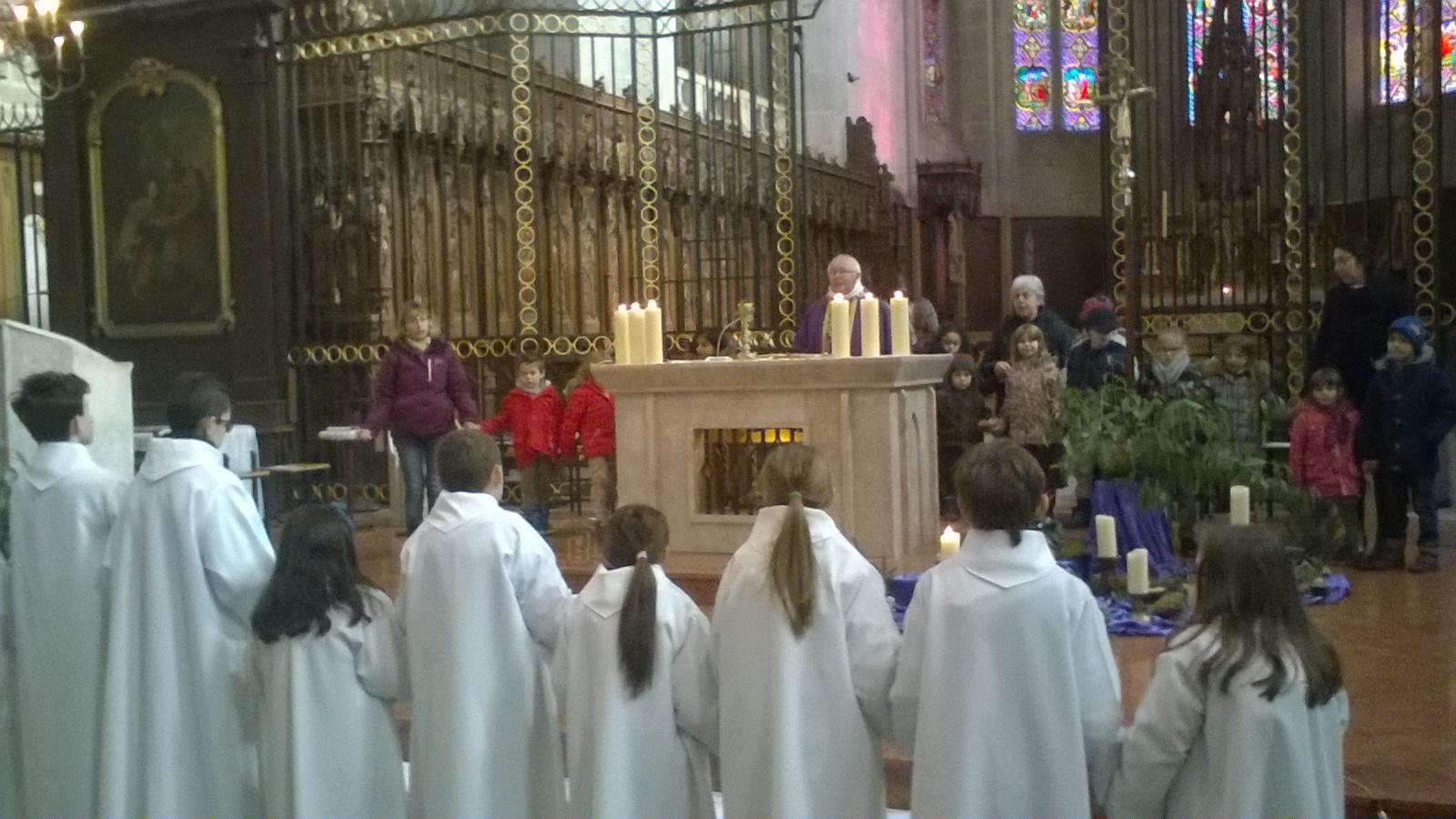 1er dimanche de l avent cathedrale de saint claude
