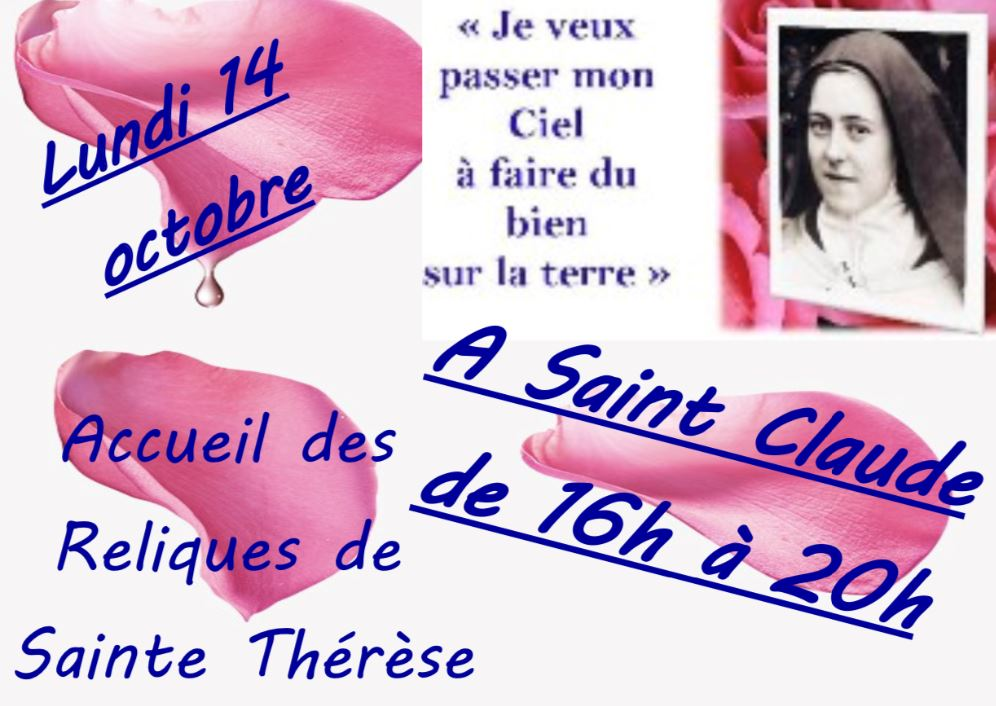 Affiche sainte therese 1