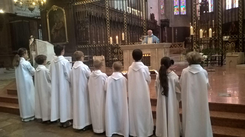 Messe à la cathédrale