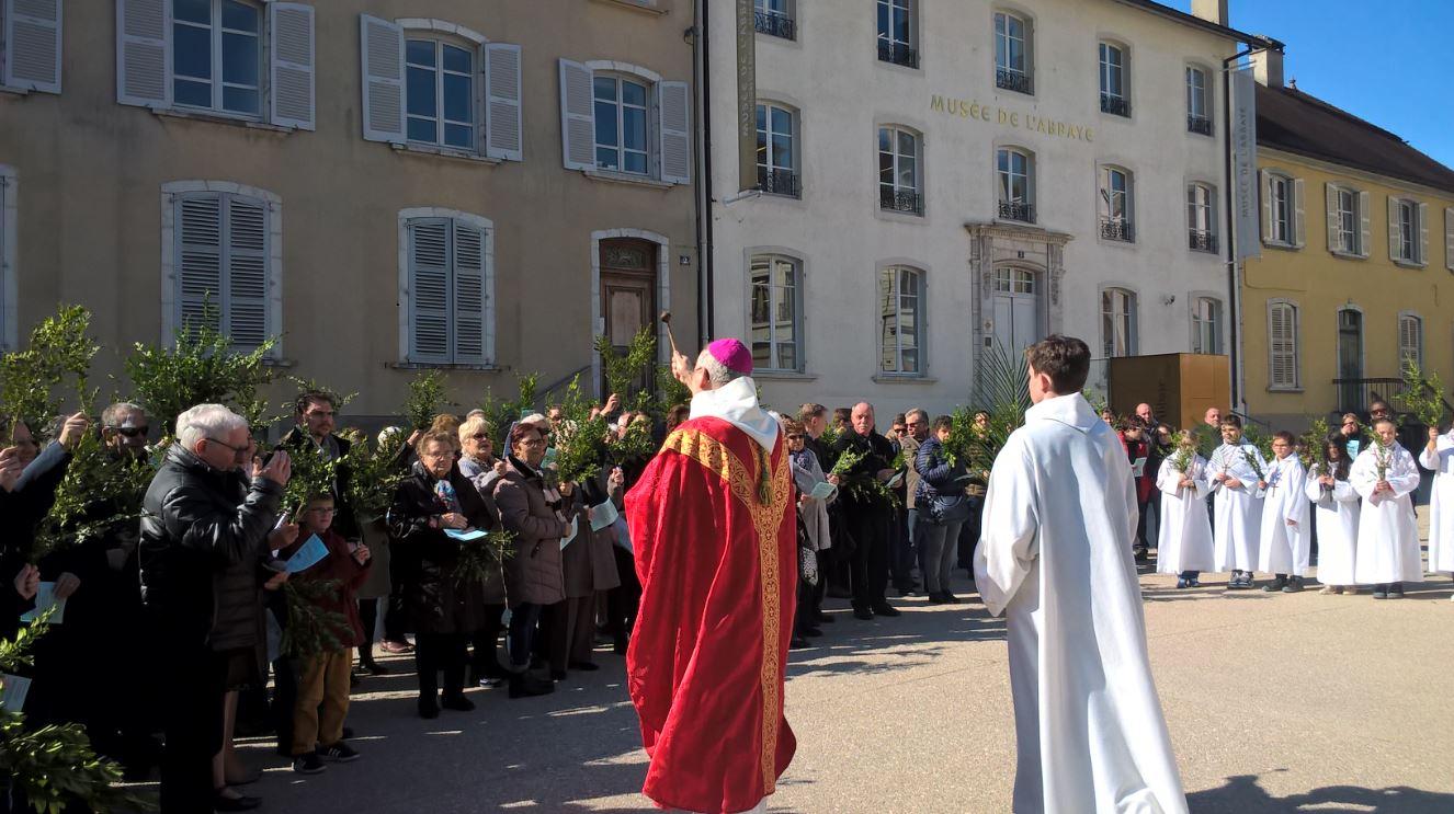 Benediction des rameaux