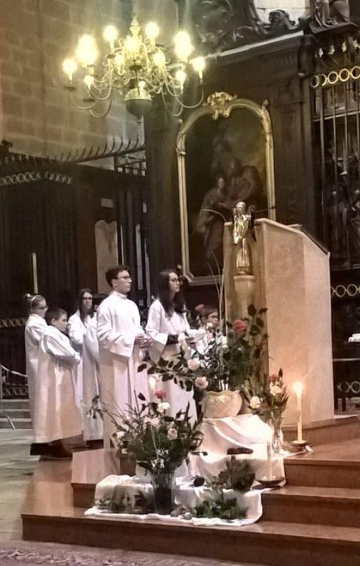 Nuit de Noël - cathédrale