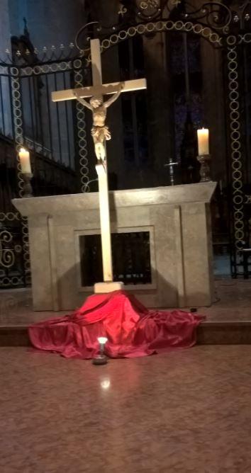 Croix vendredi saint