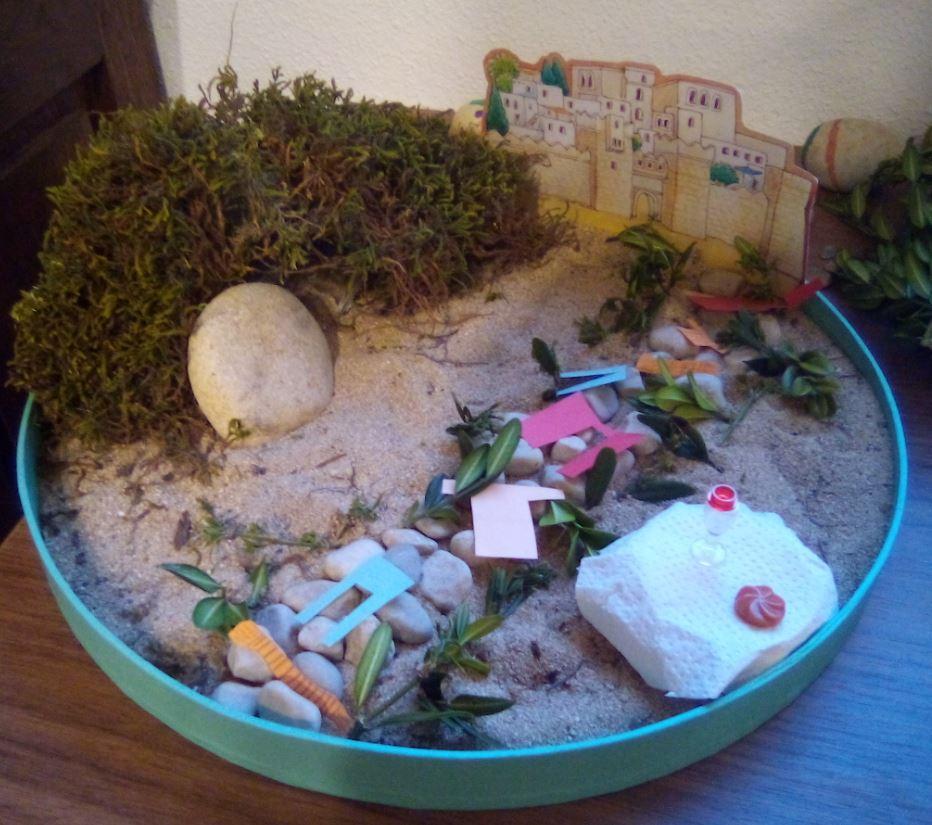 Jardin de paques jeudi saint