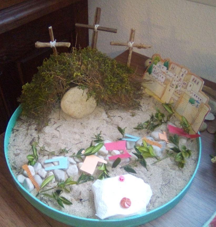 Jardin de paques vendredi saint