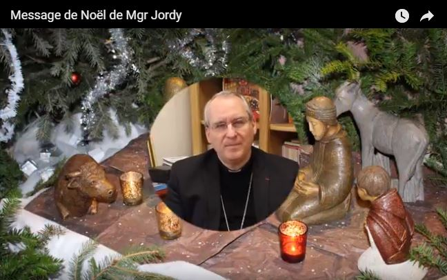 Message de noel mgr jordy