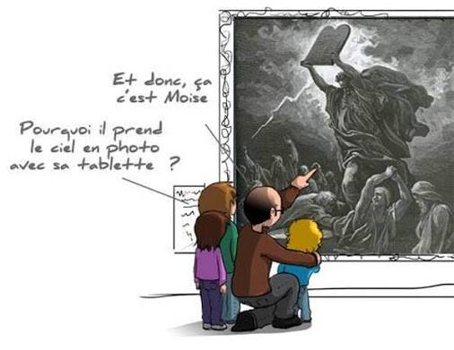 Moise tablette