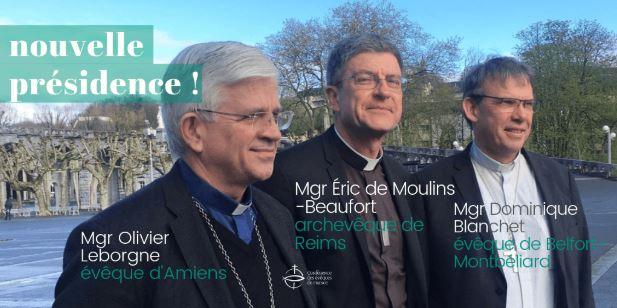 Nouvelle presidence conference des eveques de france