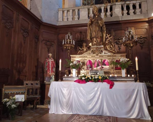 Reliques saint claude