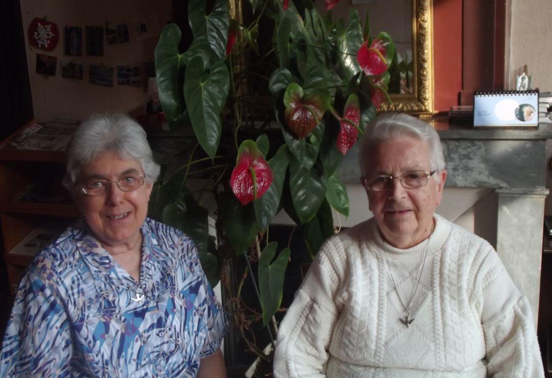 Soeur francoise et soeur marguerite 11 2018