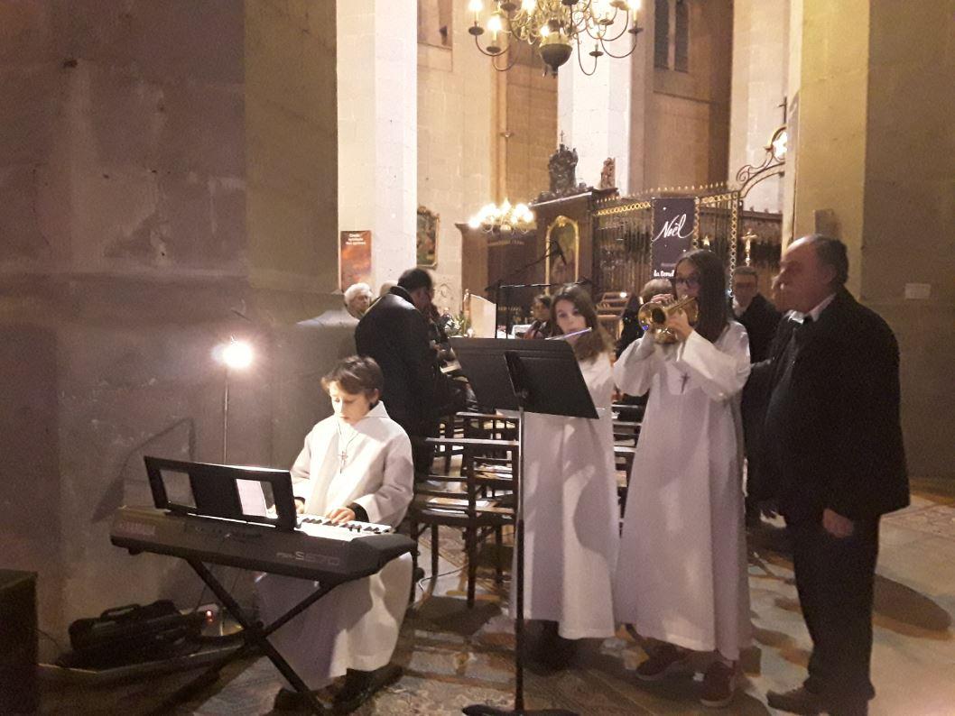 Veillée à la cathédrale